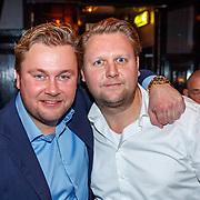 NLD/Amsterdam/20171214 - Presentatie cd Wesly Bronkhorst, met zijn broer