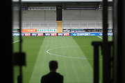 The pitch looking in excellent condition during the EFL Sky Bet Championship match between Burton Albion and Fulham at the Pirelli Stadium, Burton upon Trent, England on 16 September 2017. Photo by John Potts.
