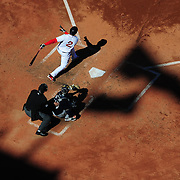BOSTON, MA - APRIL 6:  Xander Bogaerts #2 of the Boston Red Sox bats against the Milwaukee Brewers during the second inning at Fenway Park on April 6, 3014 in Boston, Masschusetts.  (Photo by Michael Ivins/Boston Red Sox/Getty Images) *** Local Caption ***Xander Bogaerts