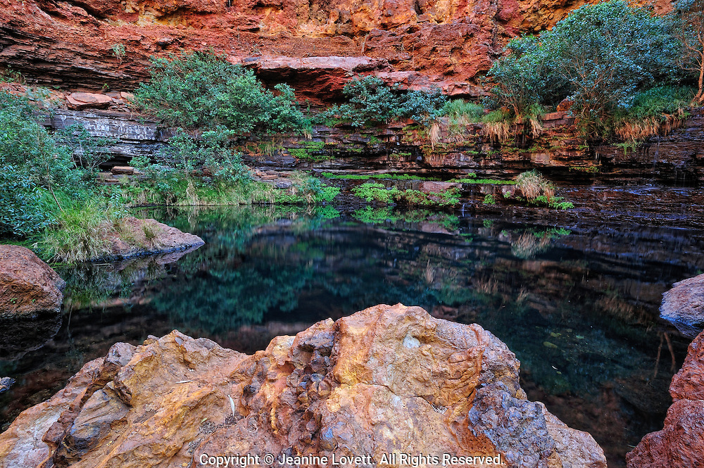 Karijini National Park is a National Park centred in the Hamersley Ranges of the Pilbara region in northwestern Western Australia.