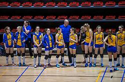 18-03-2017 NED:  Finale NOJK B finalisten, Doetinchem<br /> De B-teams waren de finaledag actief in Doetinchem, waar zij in het Topsportcentrum sportief zullen uitvechten wie zich het komende jaar Nederlands kampioen mag gaan noemen / Halley