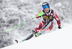 Sebastian Foss-Solevaag (NOR) competes during 1st Run of 10th Men's Slalom race of FIS Alpine Ski World Cup 55th Vitranc Cup 2016, on March 6, 2016 in Podkoren, Kranjska Gora, Slovenia. Photo by Vid Ponikvar / Sportida