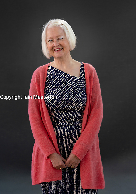 Edinburgh, Scotland, UK. 25 August 2019. Christine de Luca. Scottish Poet is a collaborator on a new book, Paolozzi at Large, which pays tribute to the Leith born sculptor.  Iain Masterton/Alamy Live News.