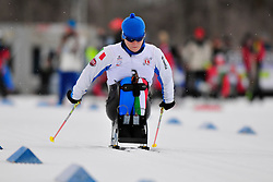 PORCELLATO Franceses, ITA at the 2014 IPC Nordic Skiing World Cup Finals - Sprint