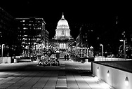The State Capitol in Madison, Wisconsin Tuesday, Dec. 12, 2017.  Steve Apps Photography.