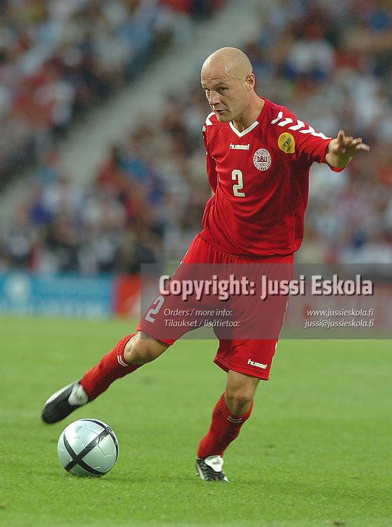 Kasper B&ouml;gelund, Denmark-Czech Rep. 27.6.2004.&amp;#xA;Euro 2004.&amp;#xA;Photo: Jussi Eskola<br />