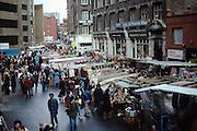 Market, Petticoat Lane,London. UK, 1980s.