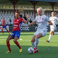 2020-06-27 | Malmö, Sverige: FC Rosengård (11) Mimmi Larsson anfaller i match mellan FC Rosengård och Vittsjö GIK i OBOS Damallsvenskan. <br /> <br /> Foto av: Jimmy Palm I SwePress Photo
