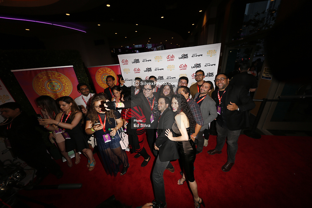LOS ANGELES, CA - JUNE 7 attend the 9th Annual Hola Mexico Film Festival Opening Night at the Regal LA LIVE in downtown Los Angeles, on June 7, 2017 in Los Angeles, California. Byline, credit, TV usage, web usage or linkback must read SILVEXPHOTO.COM. Failure to byline correctly will incur double the agreed fee. Tel: +1 714 504 6870.