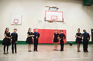 Students perform their dance routines they learned in a ballroom dancing class at Colin Powell Elementary in Grand Prairie, Texas on October 7, 2016. &quot;CREDIT: Cooper Neill for The Wall Street Journal&quot;<br /> PUBLICS