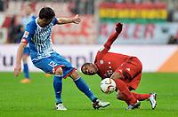 v.l. Tobias Strobl, Douglas Costa (Bayern) <br />  31.01.2016, Fussball Bundesliga, FC Bayern München - TSG 1899 Hoffenheim<br /> Norway only