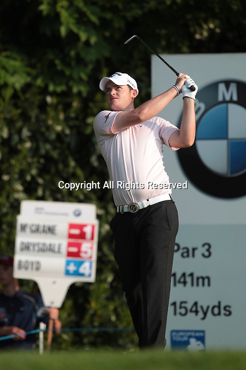 25.05.2012 Wentworth, England. Gary Boyd (ENG) in action during the BMW PGA Championship, second round.
