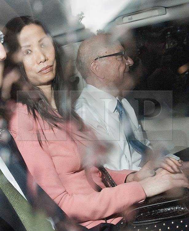 ** File pics - Rebekah Brooks return to News UK** © licensed to London News Pictures. 19/07/2011. London, UK.  Rupert Murdoch and his wife  Wendi Deng leaving Portcullis house in London today (19/07/2011) after an altercation with a demonstrator during a meeting with the Culture, Media and Sport Committee in relation to the News Of The World phone hacking scandal. Photo credit should read Ben Cawthra/LNP