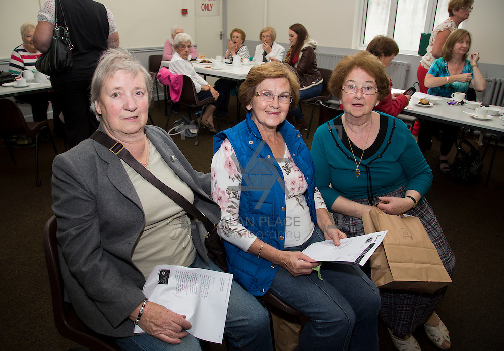 01.10.14            <br /> The Limerick City Community Safety Partnership will host a Safety Information Day for Older People. The event will feature important personal and home safety information for older people. Nutritional advice, occupational therapy, and care and repair demonstrations will also be provided. Advice and literature on a range of issues will be provided on the day by agencies including An Garda Síochána, Limerick City and County Council, Home Instead Senior Care, Limerick Fire and Rescue Service and the HSE. <br /> Attending the event at St. Johns Pavilion were, Kate Ryan, Kilmallock, Monica Moloney, Kilfinane and Breda Cusack, Ballysimon. Picture: Alan Place.