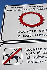 20120209 DIVIETO CANI MURA E PARCO URBANO