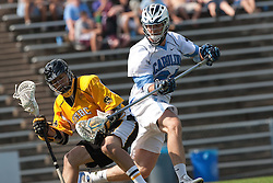 09 May 2009: North Carolina Tar Heels defenseman Ryan Flanagan (24) during a 15-13 win over the University of Maryland - Baltimore County Retrievers on Fetzer Field in Chapel Hill, NC.