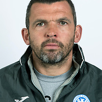 St Johnstone FC….Callum Davidson, Assistant Manager<br />Picture by Graeme Hart.<br />Copyright Perthshire Picture Agency<br />Tel: 01738 623350  Mobile: 07990 594431