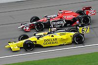 Sarah Fisher, Road Runner Turbo Indy 300, Kansas Speedway, Kansas City, KS USA  5/1/2010