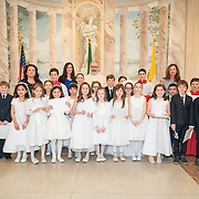 Holy Rosary First Communion Event