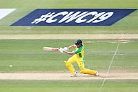 Cricket - 2019 ICC Cricket World Cup warm ups - Australia vs. Sri Lanka<br /> <br /> Shaun Marsh of Australia drives the ball forward towards the boundary at the Hampshire Bowl Southampton England<br /> <br /> COLORSPORT/SHAUN BOGGUST