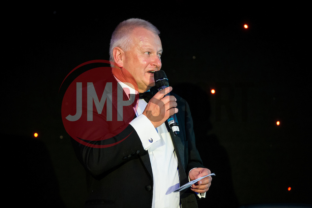 Steve Lansdown speaks at Bristol Sport's Annual Gala Dinner in the Lansdown Restaurant at Ashton Gate Stadium - Rogan Thomson/JMP - 08/12/2016 - SPORT - Ashton Gate Stadium - Bristol, England.