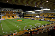 Molineux during the Sky Bet Championship match between Wolverhampton Wanderers and Nottingham Forest at Molineux, Wolverhampton, England on 11 December 2015. Photo by Alan Franklin.