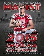 Marist High School 2015 Football Photography. Chicago, IL. Chris Pestel Photographer