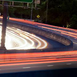 Traffic Motion Blur & Light Trails
