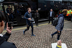 Harry Kane of Tottenham Hotspur arrives at Craven Cottage - Mandatory by-line: Jason Brown/JMP - 19/02/2017 - FOOTBALL - Craven Cottage - Fulham, England - Fulham v Tottenham Hotspur - Emirates FA Cup fifth round