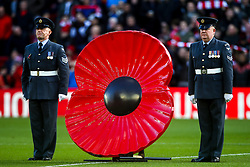 Armistice Day commemorations at Liverpool - Mandatory by-line: Robbie Stephenson/JMP - 11/11/2018 - FOOTBALL - Anfield - Liverpool, England - Liverpool v Fulham - Premier League