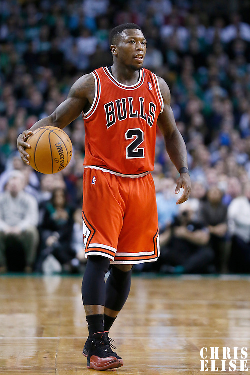 13 February 2013: Chicago Bulls point guard Nate Robinson (2) is seen during the Boston Celtics 71-69 victory over the Chicago Bulls at the TD Garden, Boston, Massachusetts, USA.