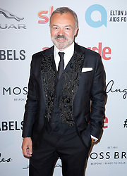 Graham Norton attends the Attitude Pride Awards 2016 at The Grand At Trafalgar Square, central London. Monday October 10, 2016. Photo credit should read: Isabel Infantes / EMPICS Entertainment.