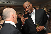 ED MOSES, The Cartier Racing Awards. The Ballroom, Dorchester hotel. Park Lane. London. 15 November 2011. <br /> <br />  , -DO NOT ARCHIVE-© Copyright Photograph by Dafydd Jones. 248 Clapham Rd. London SW9 0PZ. Tel 0207 820 0771. www.dafjones.com.