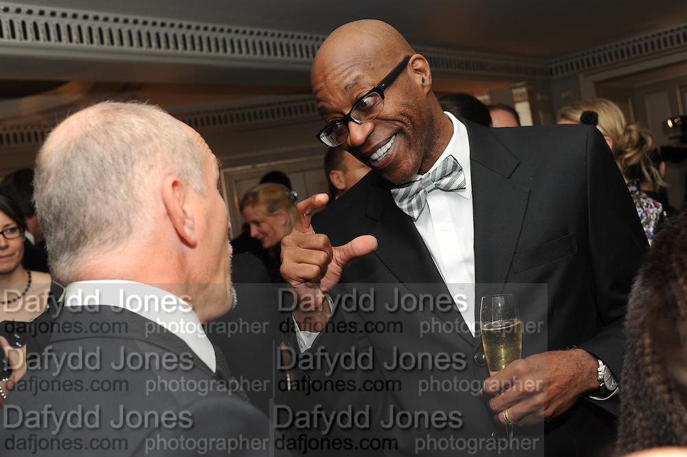 ED MOSES, The Cartier Racing Awards. The Ballroom, Dorchester hotel. Park Lane. London. 15 November 2011. <br /> <br />  , -DO NOT ARCHIVE-© Copyright Photograph by Dafydd Jones. 248 Clapham Rd. London SW9 0PZ. Tel 0207 820 0771. www.dafjones.com.