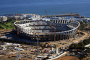 Green Point Stadium in Capetown, venue for the World Cup 2010 in South Africa, overview of the Stadium.