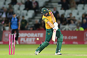 Matthew Carter of Nottinghamshire Outlaws batting during the Vitality T20 Blast North Group match between Nottinghamshire County Cricket Club and Worcestershire County Cricket Club at Trent Bridge, West Bridgford, United Kingdon on 18 July 2019.
