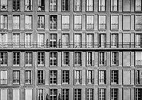 Apartment Building Facade, Morning - Le Havre, France, 2017