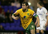 Tranmere - Friday, April 2nd, 2010: Grant Holt of Norwich City celebrates scoring the xxxx goal against Tranmere Rovers during the Coca Cola League One match at Prenton Park, Tranmere. (Pic by Michael Sedgwick/Focus Images)