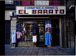 Logro&ntilde;o,La Rioja,Spain<br /> An old store in the city center.<br /> &copy;Carmen Secanella