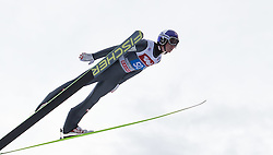 04.01.2015, Bergisel Schanze, Innsbruck, AUT, FIS Ski Sprung Weltcup, 63. Vierschanzentournee, Innsbruck, 1. Wertungssprung, im Bild Gregor Schlierenzauer (AUT) // Gregor Schlierenzauer of Austria soars trought the air during his first competition jump for the 63rd Four Hills Tournament of FIS Ski Jumping World Cup at the Bergisel Schanze in Innsbruck, Austria on 2015/01/04. EXPA Pictures © 2015, PhotoCredit: EXPA/ JFK