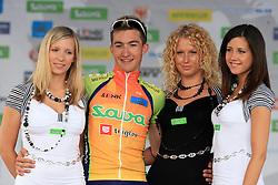 Winner Gasper Svab of Sava Kranj at 42nd Grand Prix Kranj - Filip Majcen Memorial 2009 cycling race (UCI Cat. 1.1), on May 30, 2009, in Kranj, Slovenia. . (Photo by Vid Ponikvar / Sportida)