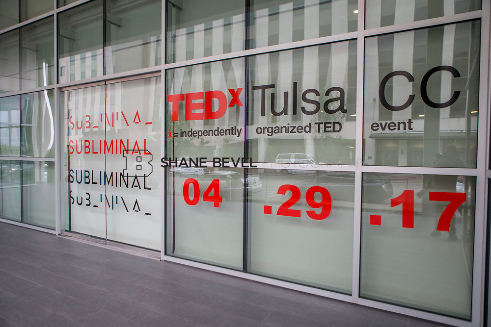 4/29/17 6:09:20 PM -- Tedx TulsaCC event at the Center for Creativity. Released under Creative Commons license for non commercial, non derivative usage. <br /> <br /> Photo by Shane Bevel