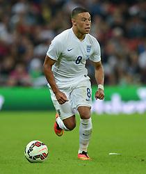 England's Alex Oxlade-Chamberlain (Arsenal) - Photo mandatory by-line: Alex James/JMP - Mobile: 07966 386802 - 3/09/14 - SPORT - FOOTBALL - London - Wembley Stadium - England v Norway - International Friendly