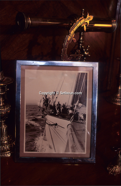 THE YACHT THAT USED TO BELONG TO ERROL FLYNN IN MONACO The Zaca boat (1928) was belonging to Eroll Flynn    Monaco     ///  le bateau  Zaca (1928) ayant appartenu a Eroll flynn,    Monaco