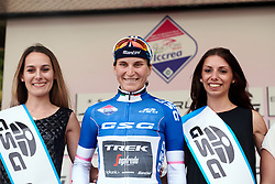 Elisa Longo Borghini (ITA) retains the best Italian rider jersey during Stage 9 of 2019 Giro Rosa Iccrea, a 125.5 km road race from Gemona to Chiusaforte, Italy on July 13, 2019. Photo by Sean Robinson/velofocus.com