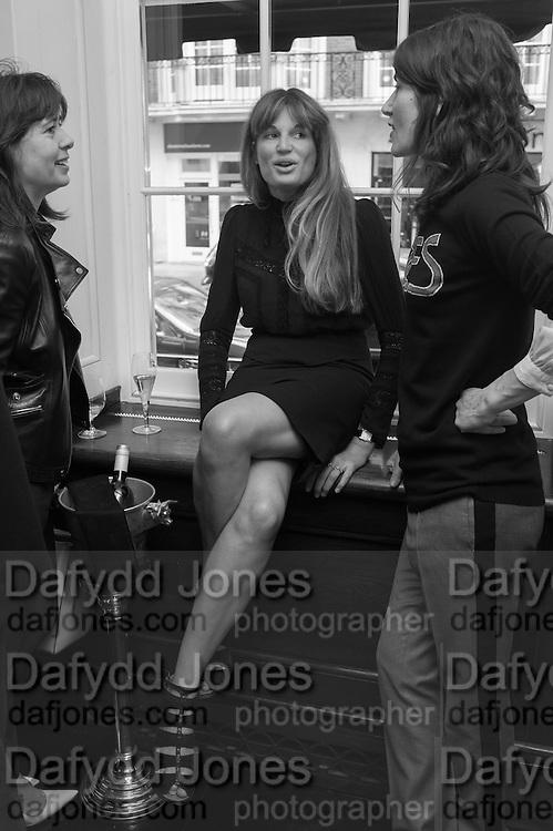 ALEX SHULMAN; JEMIMA KHAN; BELLA FREUD, Vanity Fair Lunch hosted by Graydon Carter. 34 Grosvenor Sq. London. 14 May 2013