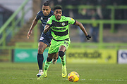 Forest Green Rovers Reece Brown(10) runs forward during the EFL Sky Bet League 2 match between Forest Green Rovers and Bury at the New Lawn, Forest Green, United Kingdom on 19 January 2019.