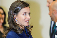 090519 Queen Letizia attends the 'CONFERENCE ON INFORMATIVE TREATMENT OF  DISABILITY'