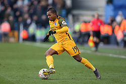 Jose Izquierdo of Brighton and Hove Albion on the ball - Mandatory by-line: Arron Gent/JMP - 17/03/2019 - FOOTBALL - The Den - London, England - Millwall v Brighton and Hove Albion - Emirates FA Cup Quarter Final