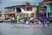 El sábado 17 de marzo de 2012, la Fundación Portobelo y el Grupo Realce Histórico realizaron el I Festival de la Pollera Conga. Es un evento bienal que se complementa con el Festival de Diablos y Congos que ya existe en Portobelo desde el año 2000. Panama, 14 de mayo de 2012. (Victoria Murillo/Istmophoto)